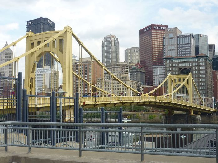 Pittsburgh, America's City Of Bridges.